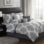 grey comforter bedroom ideas