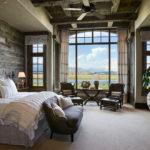 grey country bedroom ideas
