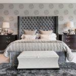 grey headboard bedroom ideas