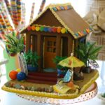 hawaiian gingerbread house ideas