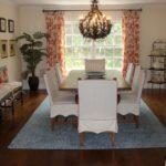 informal dining room window treatments