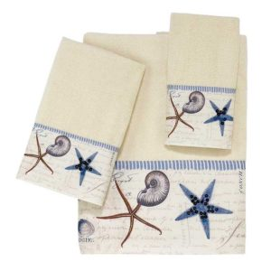 ivory decorative towels