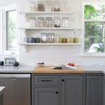 kitchen base cabinets finished