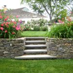 landscaping stone fence