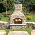 Outdoor Fireplace Kits for Outdoor Place