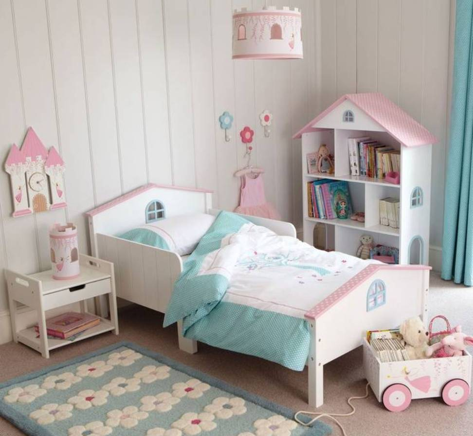 Girly Bedroom Decor Pinterest: Little Toddler Girl Bedroom Ideas