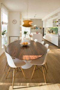 log dining room table sets