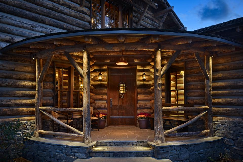 log home accents