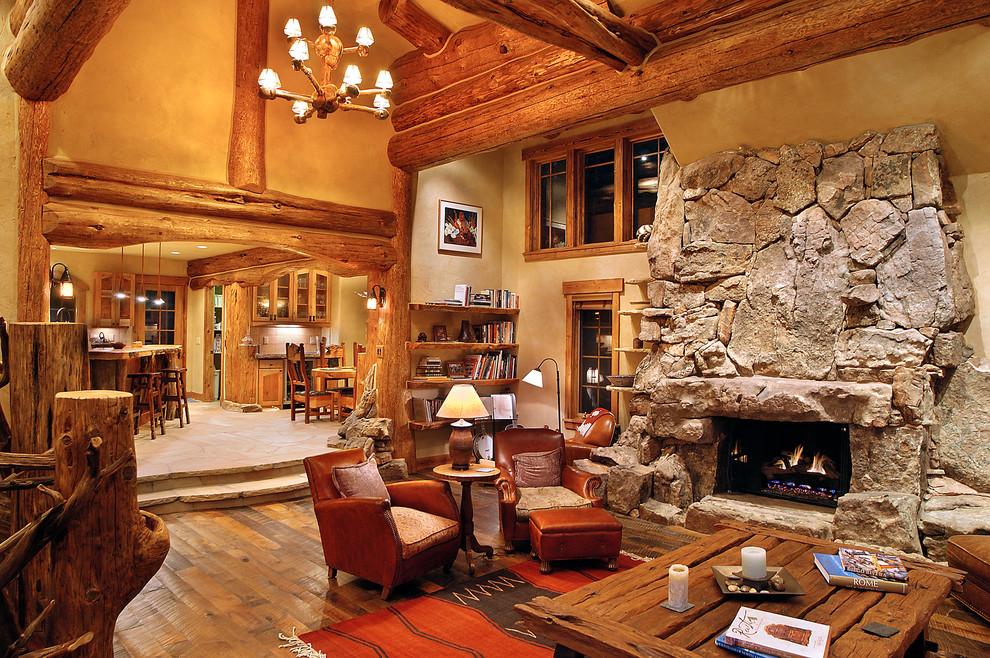log home decor and furniture