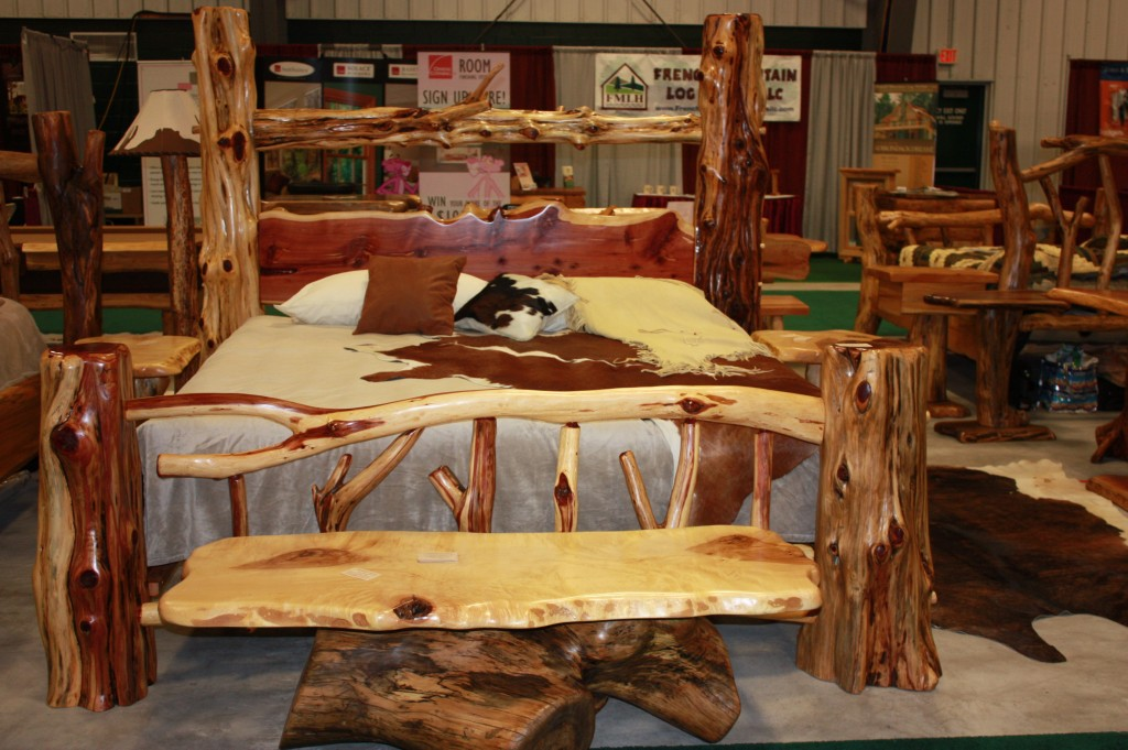 log home decor furniture