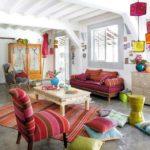 modern bohemian home decor