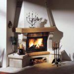 modern corner fireplace decorating ideas