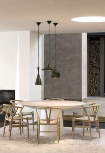 modern dining room table lighting
