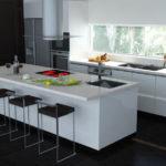 modern kitchen design ideas for small kitchens