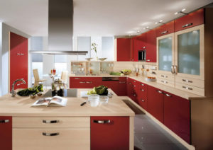 modern kitchen door design