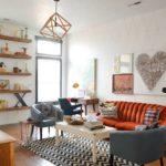 open shelving ideas living room