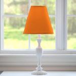 orange lamp shade homebase