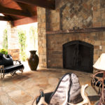 outdoor fireplace enclosures