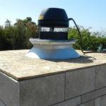 outdoor fireplace exhaust fan