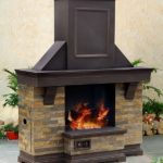 outdoor fireplace frame kit