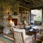 outdoor fireplace furniture