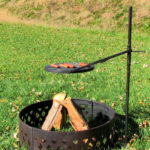 outdoor fireplace grates