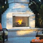 outdoor fireplace insert kits