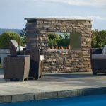 outdoor fireplace kits modern