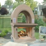 outdoor fireplace kits wood