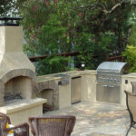 outdoor fireplaces europe
