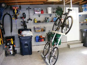 overhead bike storage ideas