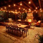 patio ceiling lighting ideas