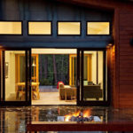 patio door lighting ideas