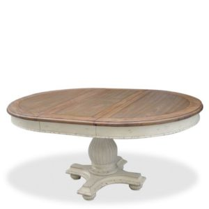 round pedestal extending dining table