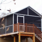 screened in deck enclosures