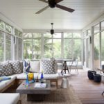 screened in deck furniture