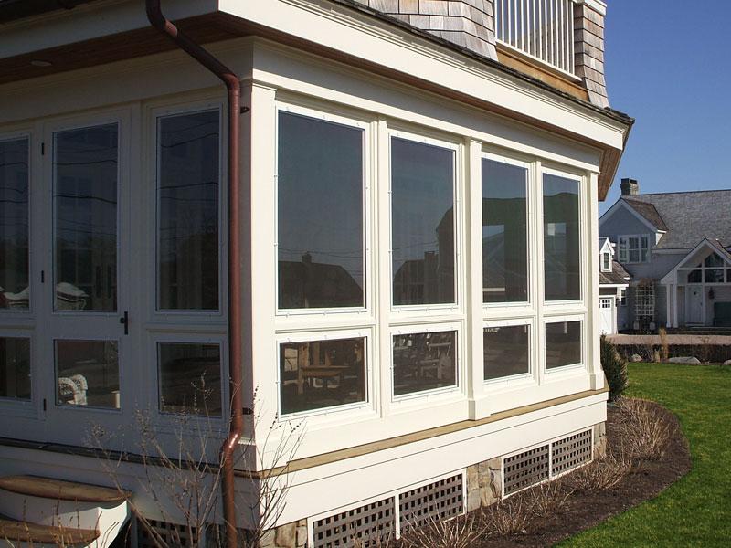 screened in deck windows