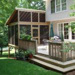 screened in porch deck designs