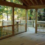 screened porch deck floor