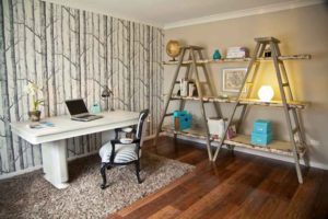 shabby chic office decor ideas