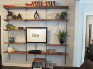 shelving ideas for the living room