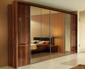 sliding mirror closet doors bronze