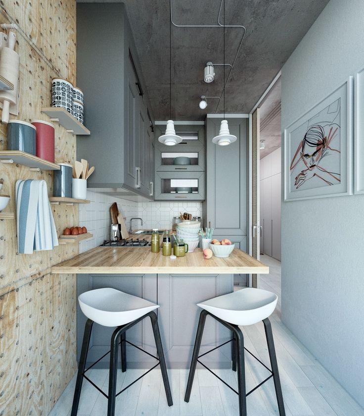 small apartment kitchen interior design