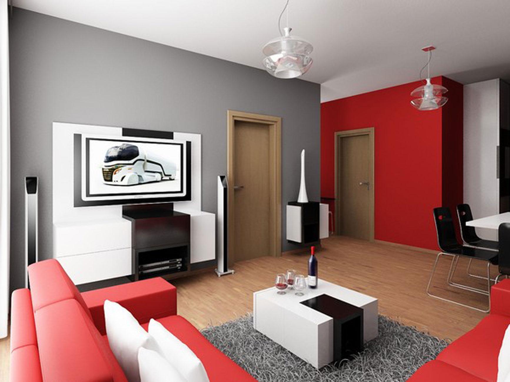 small apartment modern interior design