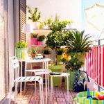 small garden balcony design