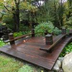 small garden bridge design