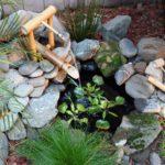small garden fountain design