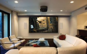small living room home theater