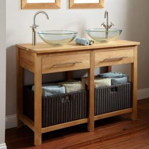small rustic bathroom vanities