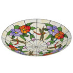 stained glass ceiling lamp shades